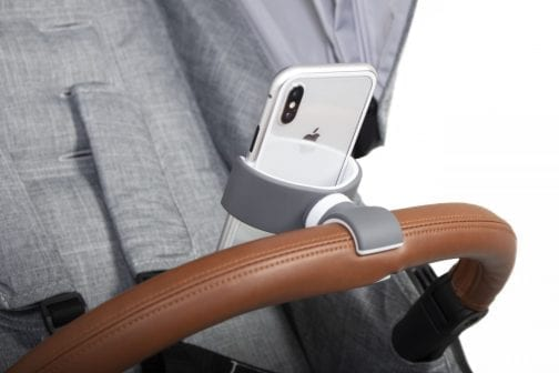 PhoneHolder Grey BumperBar2 scaled